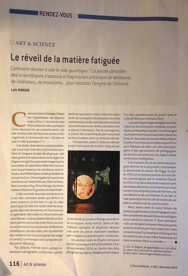 presse- POUR LA SCIENCE- octobre 2014
